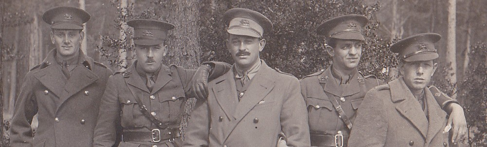 Five British Officers of the First World War