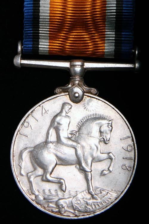 British War Medal Reverse