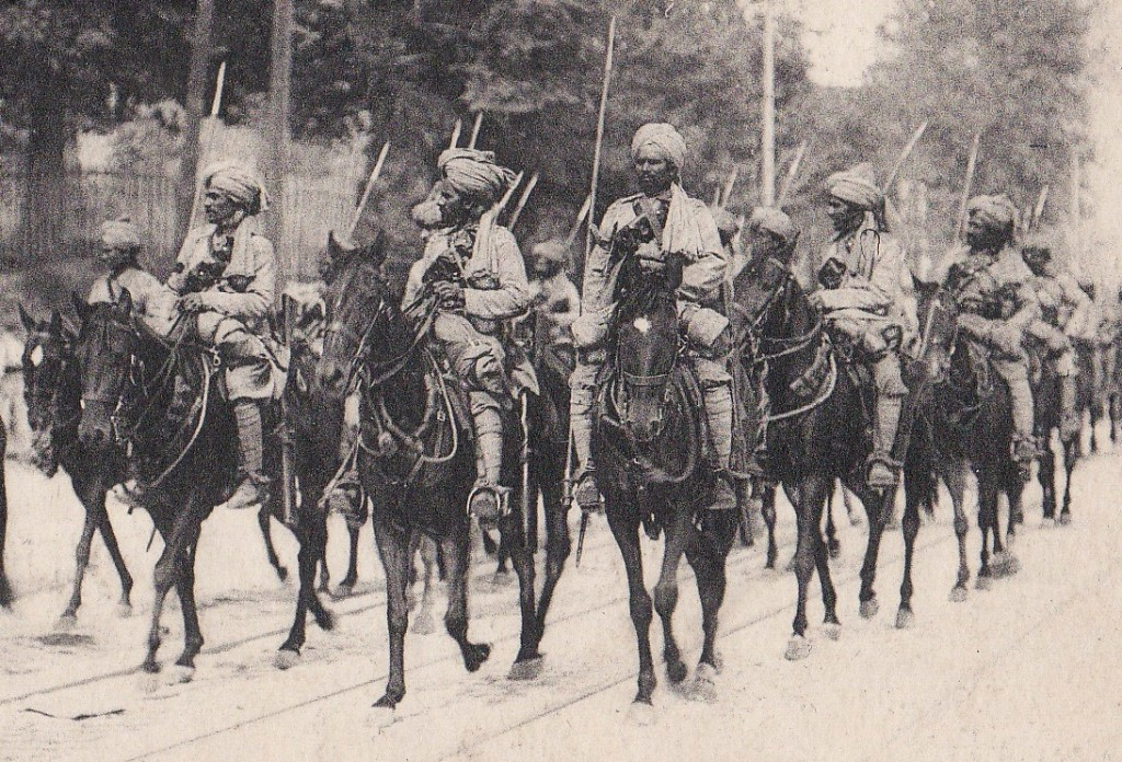 Indian Army Cavalry WW1