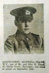 WW1 Soldier KIA