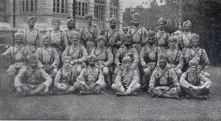 40th Pathans British and Indian Officers