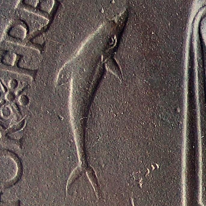 WW1 Memorial Plaque Dolphin