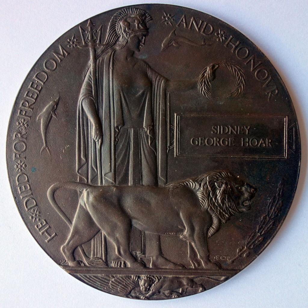 WW1 Memorial Plaque