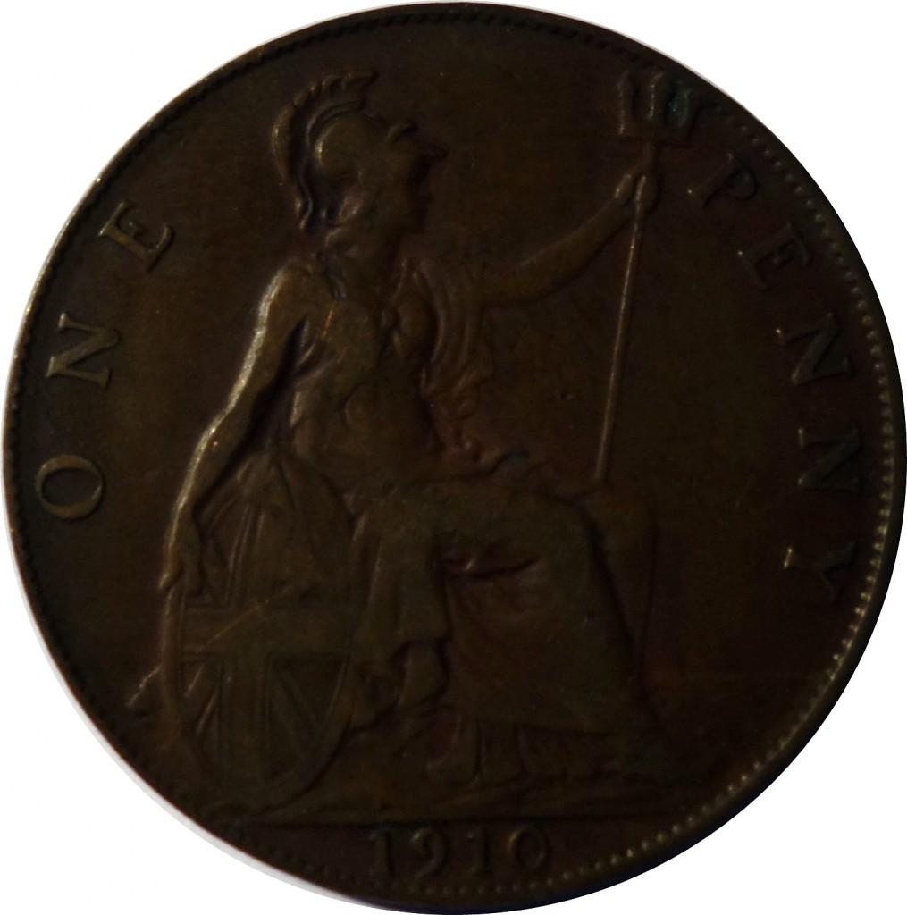 WW1 Memorial Plaque Penny Comparison