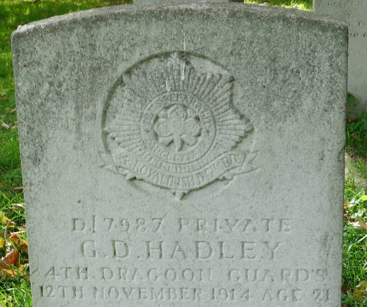 4th Dragoon Guards Hadley