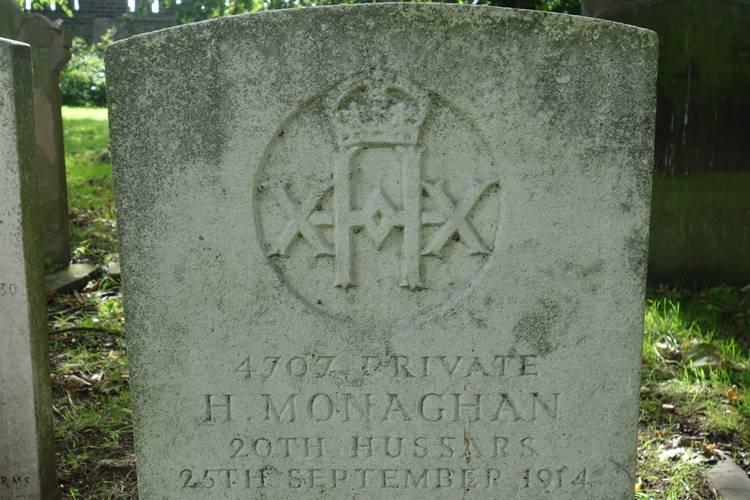 Monaghan 20th Hussars WW1