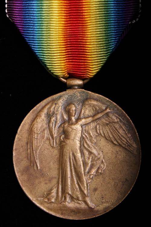 A WW1 British Victory Medal Obverse
