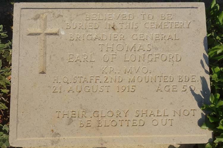 Brigadier General Thomas Green Hill Cemetery Gallipoli