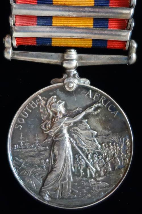 Queen's South Africa Medal Reverse