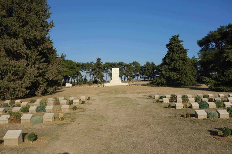 Green Hill Cemetery Gallipoli