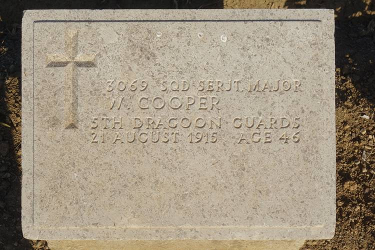 Cooper 5th Dragoon Guards Gallipoli