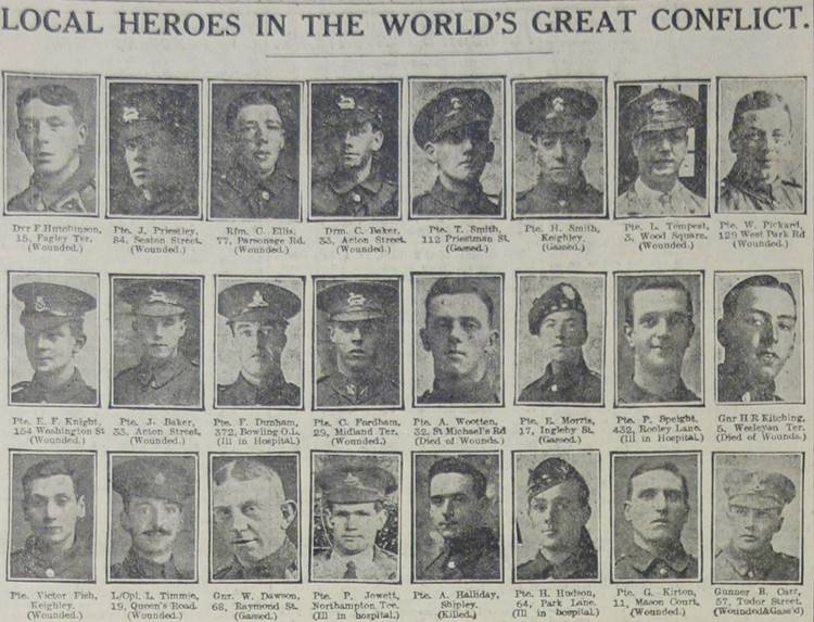 WW1 Newspapers