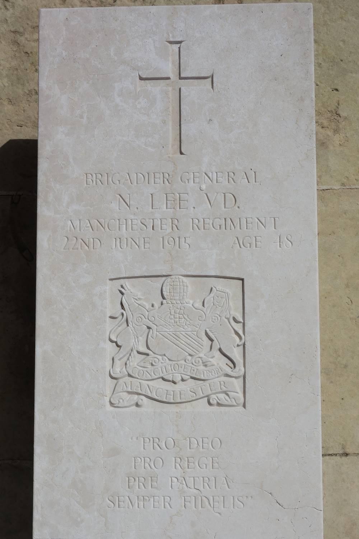 Brigadier-General Noel Lee Pieta Military Cemetery