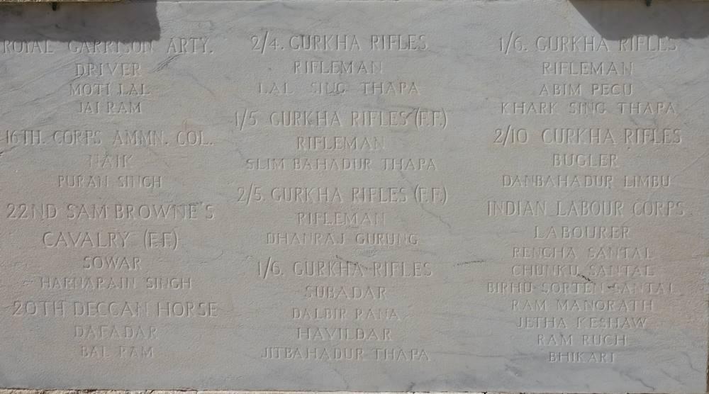 Indian Memorial Pieta Military Cemetery