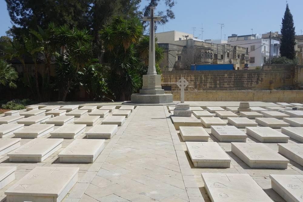 Pieta Military Cemetery Cross