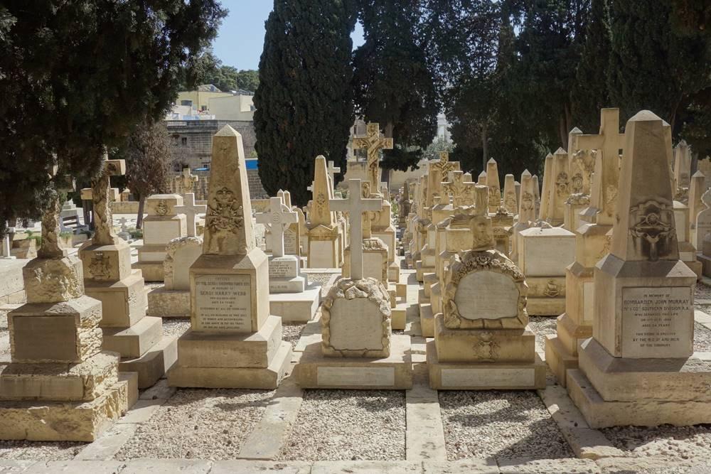 Pieta Military Cemetery Malta