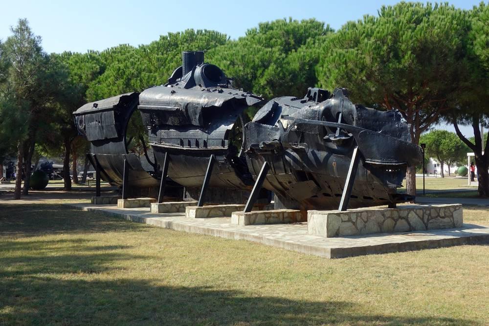 UB-46 Submarine Canakkale