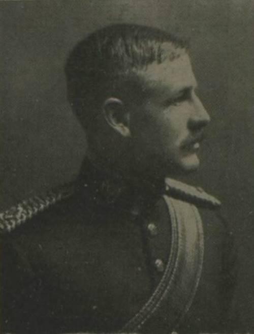 Lieutenant Claude Norman Champion de Crespigny 2nd Dragoon Guards