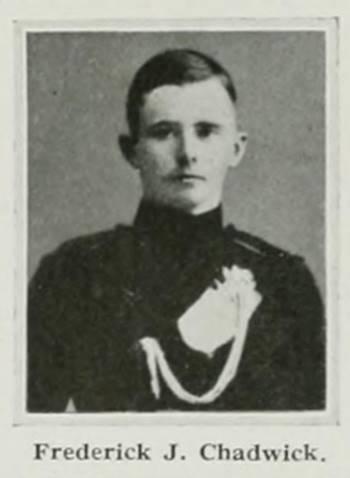 Captain Frederick James Chadwick De Ruvigny's Roll of Honour