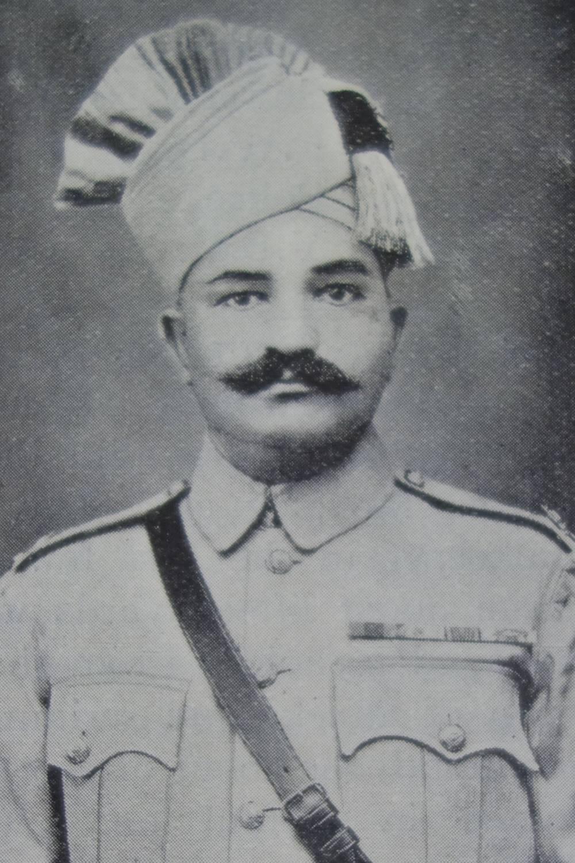 Subedar Major Sher Bahadur Khan IDSM